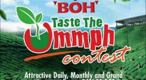 Taste the Ummph and win with BOH!
