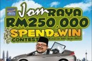 AEON 'JOM RAYA RM250,000 Spend & Win' Contest