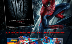 Peraduan Astro THE AMAZING SPIDER-MAN - eMenang