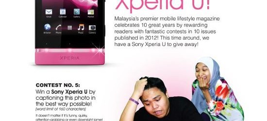 Mobile World WIN A Sony Xperia U! Contest