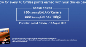 "Smiles Promotion ""Holiday Package worth RM650,000 to be won"" Contest"