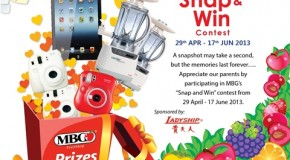 MBG Fruits of Love for Ma & Pa Snap & Win Contest 2013