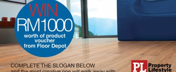 Property Lifestyle Floor Depot Rm1000 Voucher Contest