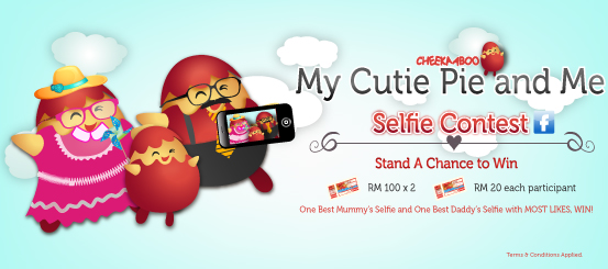 My Cutie Pie and Me Selfie Contest