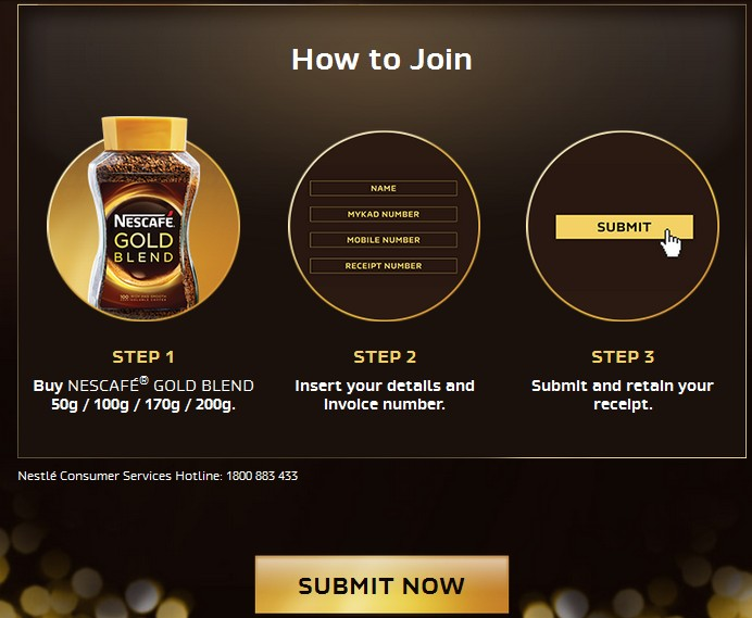 nescafe how to join