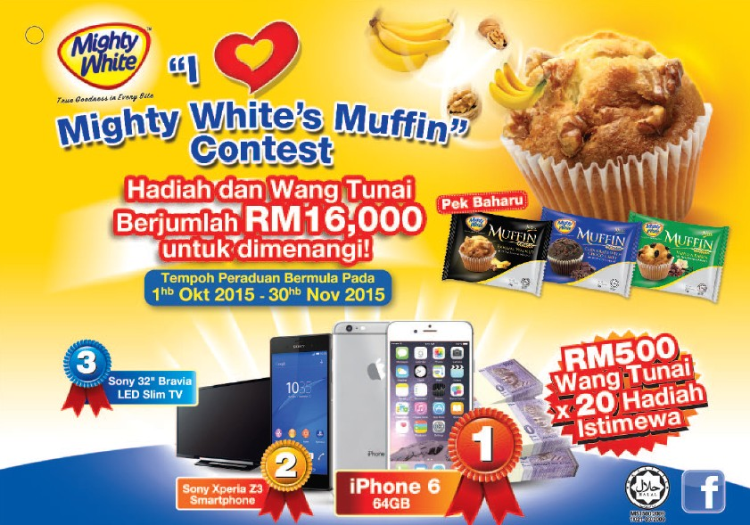 I Love Mighty White's Muffin Contest