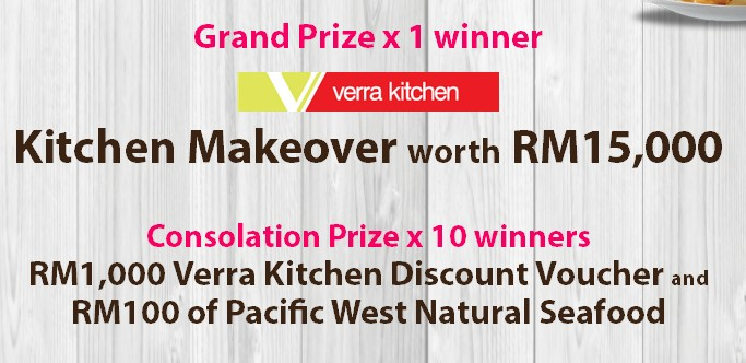 pacific west win rm 15 000 dream kitchen makeover contest emenang