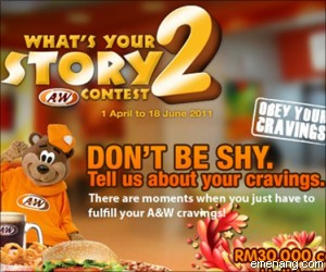 """A&W """"What's Your Story? 2"""" Contest"""