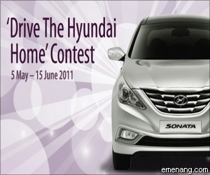 'Drive The Hyundai Home' Contest