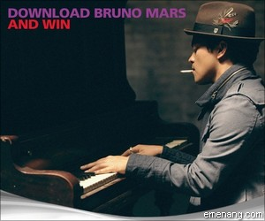 MAXIS Bruno Mars Download and Win Contest