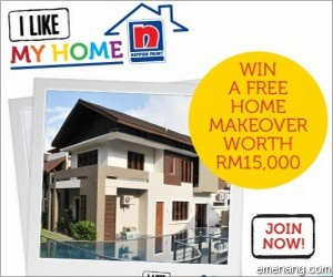 Nippon Paint 'I Like My Home' Contest