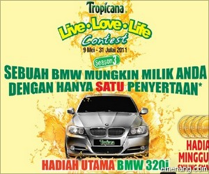 Tropicana 'Live Love Life' Contest Season 3