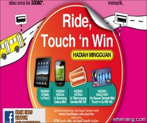 Touch 'n Go 'Ride, Touch n Win' Contest