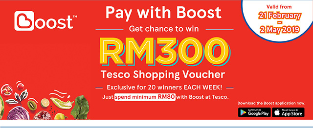 Boost X Tesco Contest - eMenang